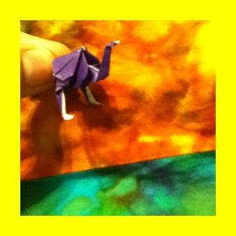 Оригами аист видео