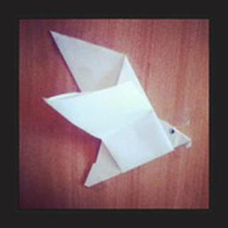 Оригами из бумаги орел