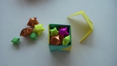 Оригами куб трансформер