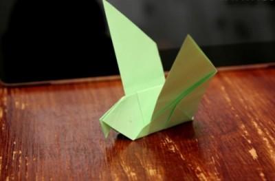 Оригами птица своими руками