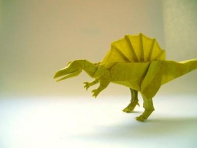Динозавры оригами отShuki Kato
