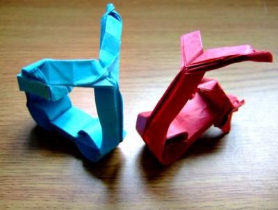 Как сделать Скутер из бумаги