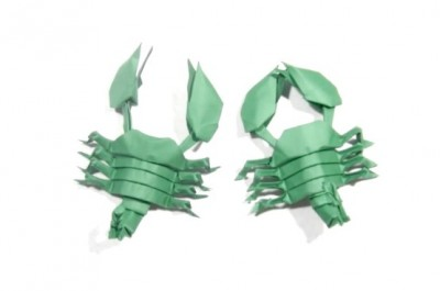 МодульноеоригамиСкорпион