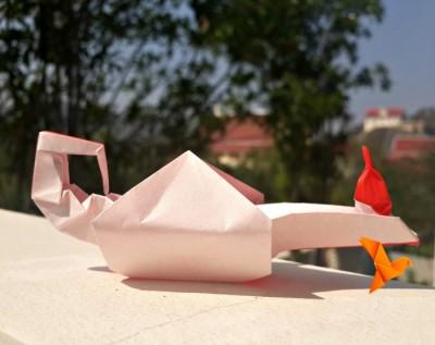 ОригамиЛампа Алладина