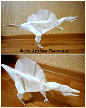 Спинозавриз бумаги отShuki Kato