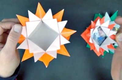 Видео урок коробочка оригами из бумаги от Jeremy Shafer